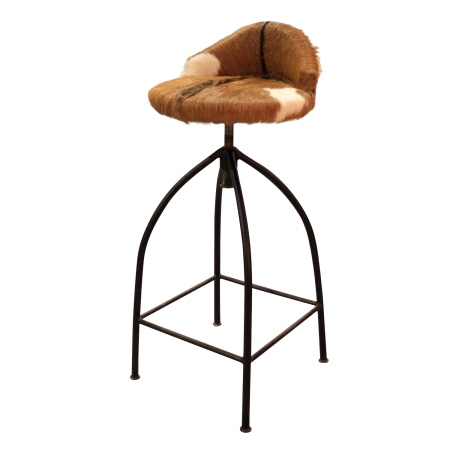 C09 Bar Chair A - Goat Skin
