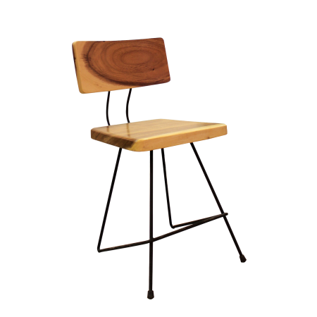 C24 Industrial Dining Chair - Suar