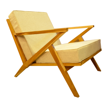C45 Scandinavian Lounge Chair - Teak