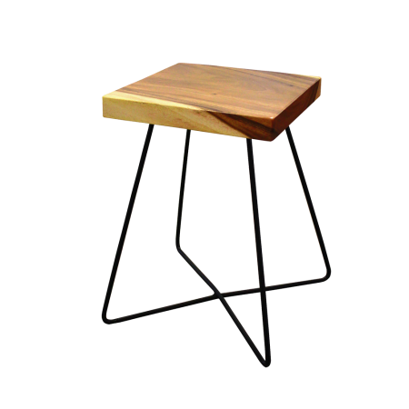 S17 Square Industrial Stool B