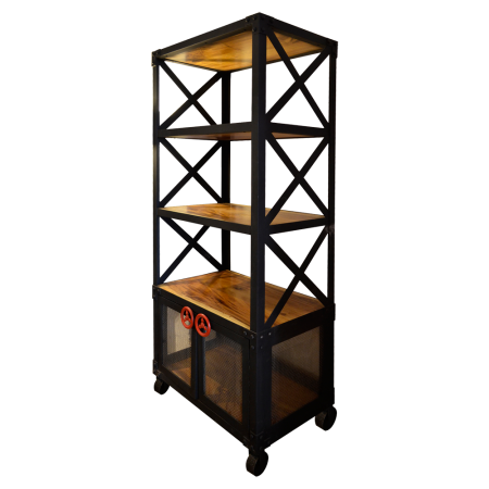 SC28 Valve Bookcase F - Metal