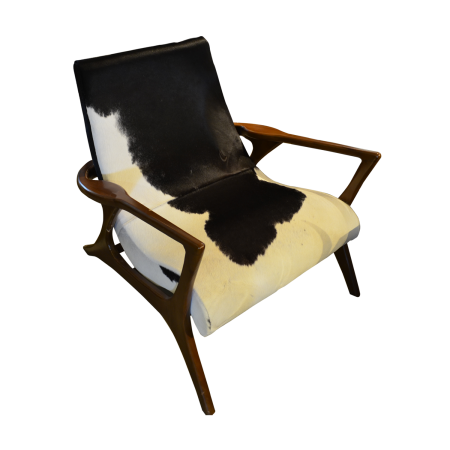 C01 Lounge Chair - Cowhide