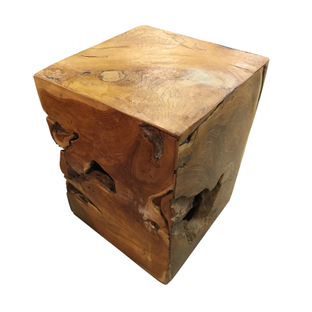 S30 Stool Square Rustic