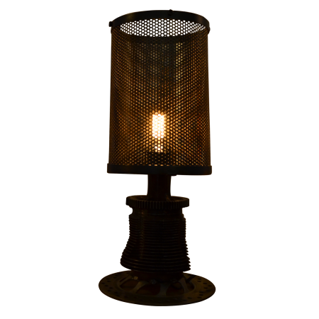 L44 Industrial Table Lamp - Metal