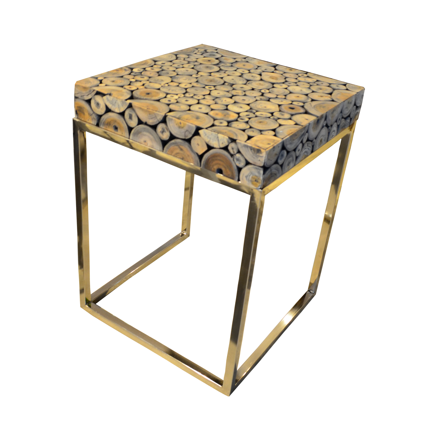 Round Coffee Table With Storage Singapore: T57 Round Wood Mosaic Coffee Table C