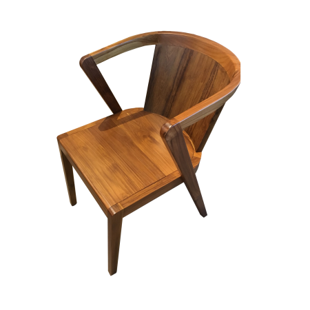 C62 Wing Dining Chair - Rustic Teak