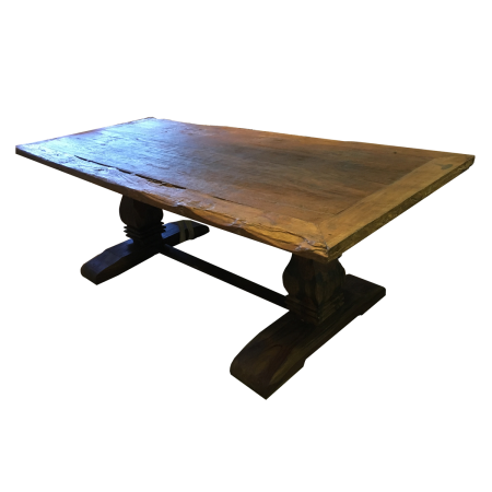 T66 Dining Table - Old Teak 180x90