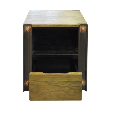 SC52 Beam Industrial Bedside Table - Mindi  d55