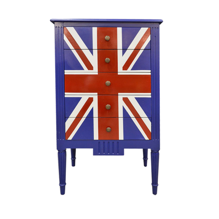 SC35A Chest of Drawer - Union Jack