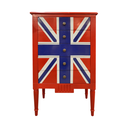 SC35B Chest of Drawer - Union Jack