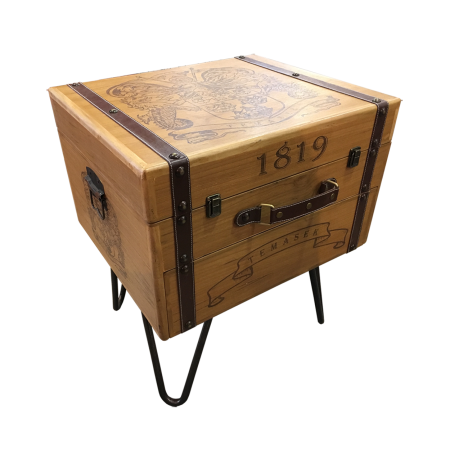 T64 Suitcase Side Table - Temasek